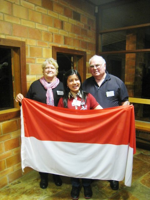 indonesian flag 2011. and indonesian flag.
